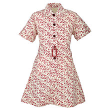 Buy Tockington Manor School Girls' Summer Dress, Cream/Multi Online at johnlewis.com