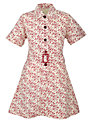 Tockington Manor School Girls' Summer Dress, Cream Multi