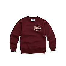 Buy Tockington Manor School Unisex Sweatshirt, Maroon Online at johnlewis.com