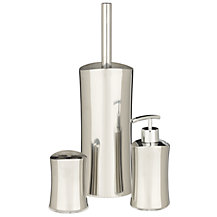 John Lewis Curve Stainless Steel Bathroom Accessories