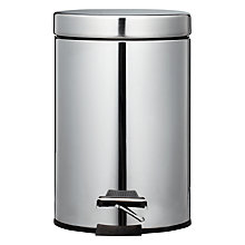 Buy John Lewis Round Soft Close Pedal Bin, 3L Online at johnlewis.com