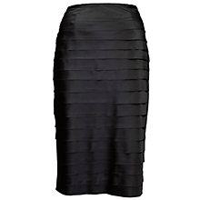 Buy Chesca Stretch Satin Layer Skirt Online at johnlewis.com