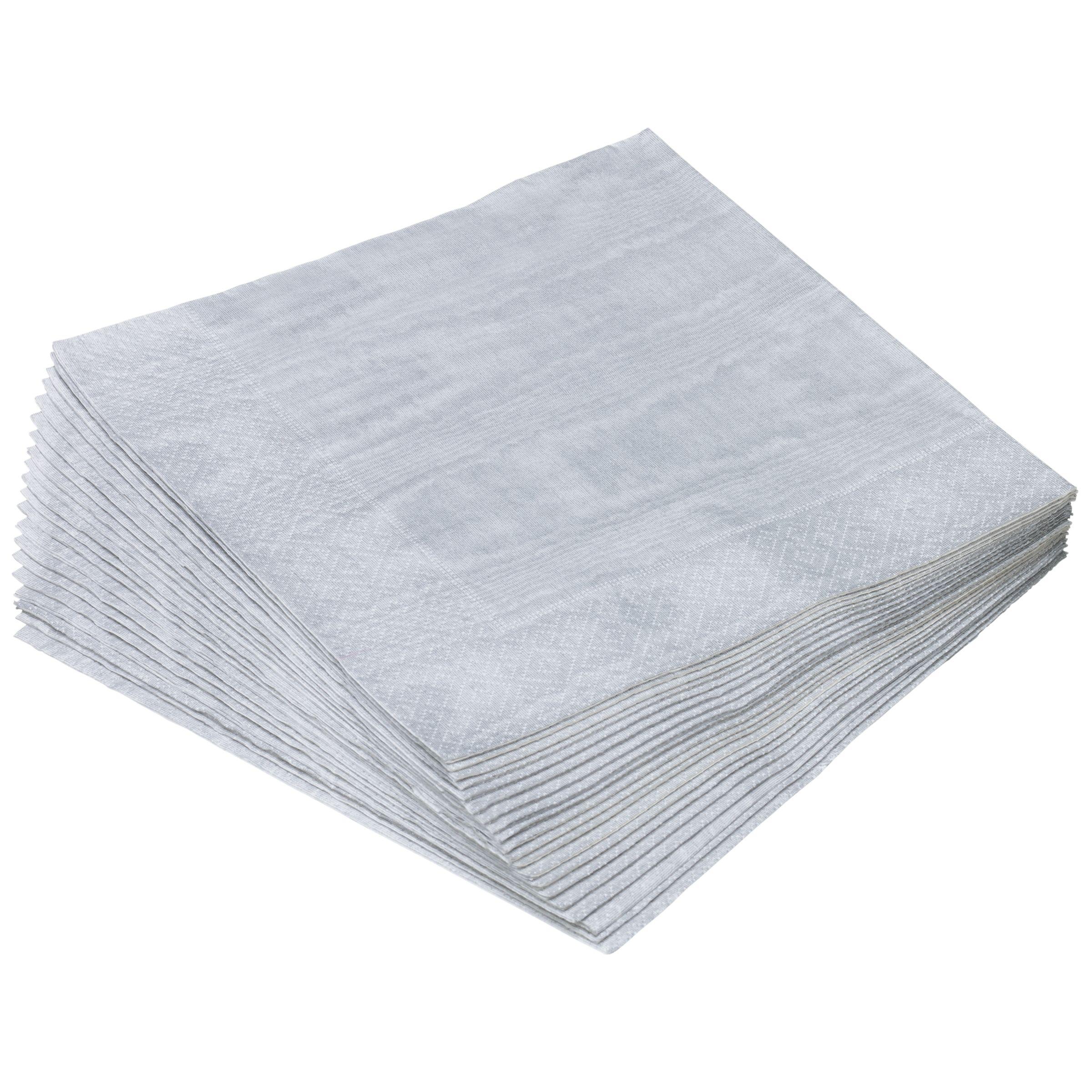 Caspari Caspari Paper Dinner Napkins, Pack of 20, 40 x 40cm