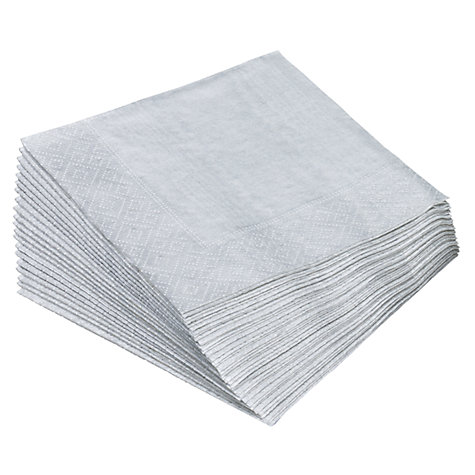 Buy Caspari Cocktail Napkins, Pack of 20, 25 x 25cm Online at johnlewis.com