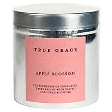 Buy True Grace Candle Tin, Apple Blossom Online at johnlewis.com