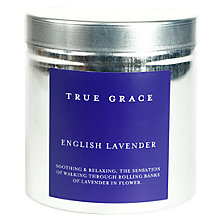 Buy True Grace Candle Tin, English Lavender Online at johnlewis.com