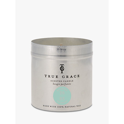 Buy True Grace Candle Tin, Seashore Online at johnlewis.com