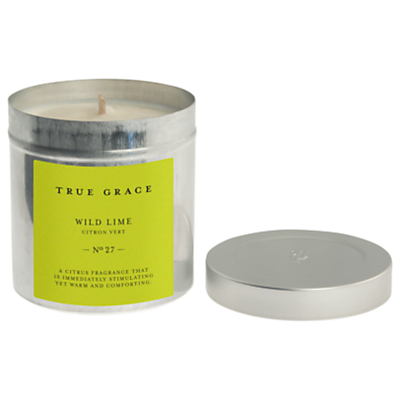 True Grace Wild Lime Scented Candle Tin