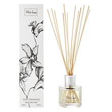 Buy Stoneglow White Orchid Diffuser, White Linen Online at johnlewis.com