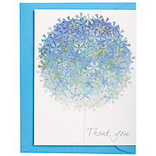 Buy Rachel Ellen Thank You Cards, Pack of 5, Blue Online at johnlewis.com
