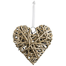 Buy Parlane Willow Heart, 20cm Online at johnlewis.com