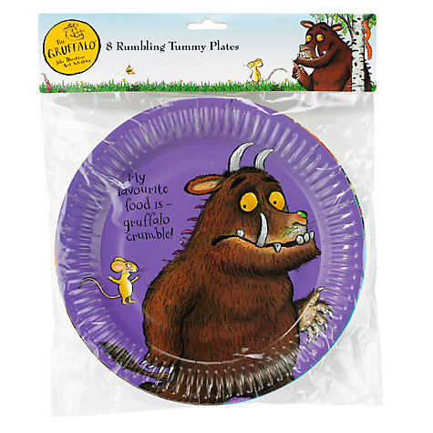 Buy Gruffalo Party Plates Online at johnlewis.com