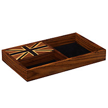 Buy John Lewis Union Jack Wooden Valet Tray Online at johnlewis.com