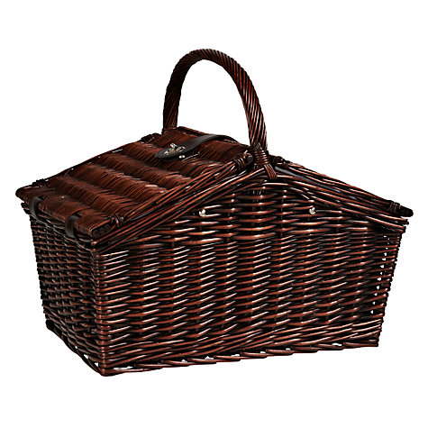 Buy John Lewis Dark Willow Coastal Picnic Hamper, 4 Person Online at johnlewis.com