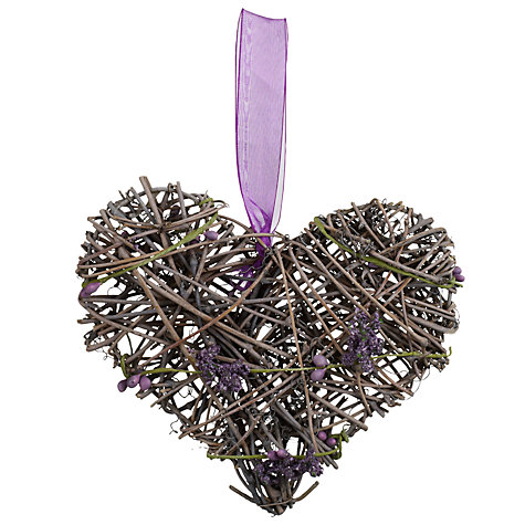 Buy John Lewis Lavender Heart, Small Online at johnlewis.com