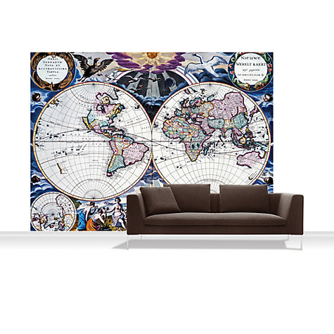 Buy Surface View Goos Atlas of the World Mural Online at johnlewis.com