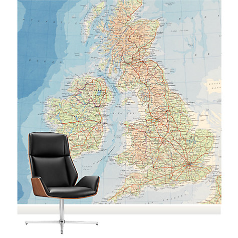 Buy Surface View The British Isles Mural Online at johnlewis.com
