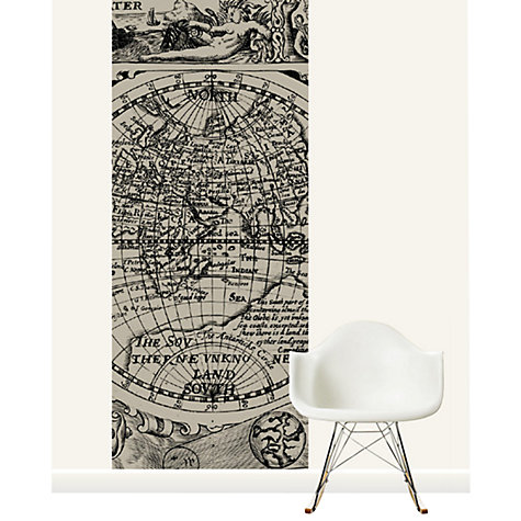 Buy Surface View 17th Century Map of the World Mural Online at johnlewis.com