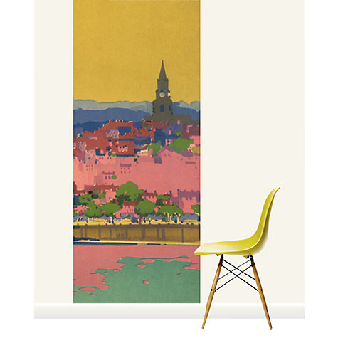 Buy Surface View Berwick Upon Tweed Railway Mural Online at johnlewis.com