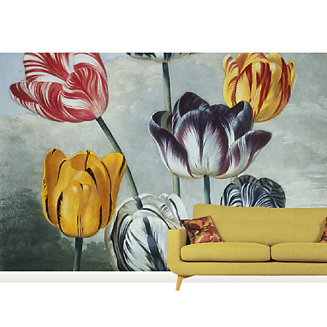 Buy Surface View RJ Thornton Tulips Mural Online at johnlewis.com