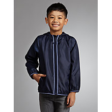 Buy John Lewis Boy Flight Cagoule, Navy Online at johnlewis.com