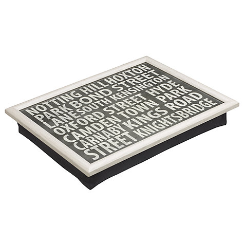 Buy John Lewis London Places Lap Tray Online at johnlewis.com