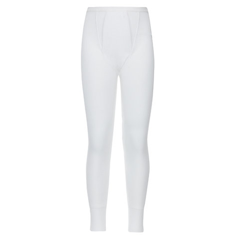 Buy John Lewis Boy Thermal Long Johns, White Online at johnlewis.com