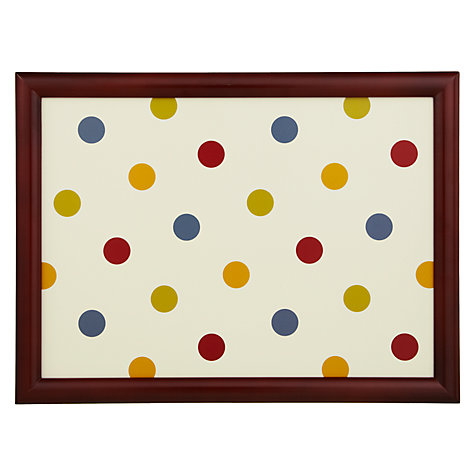 Buy John Lewis Bright Spot Lap Tray Online at johnlewis.com