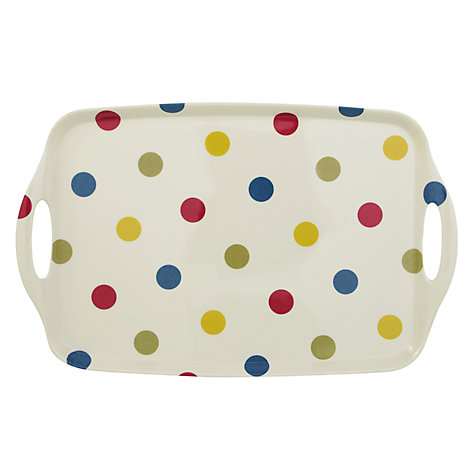 Buy John Lewis Bright Spot Tray, Large Online at johnlewis.com