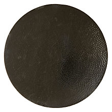 Buy John Lewis Beaten Metal Placemats, Round, Set of 2 Online at johnlewis.com