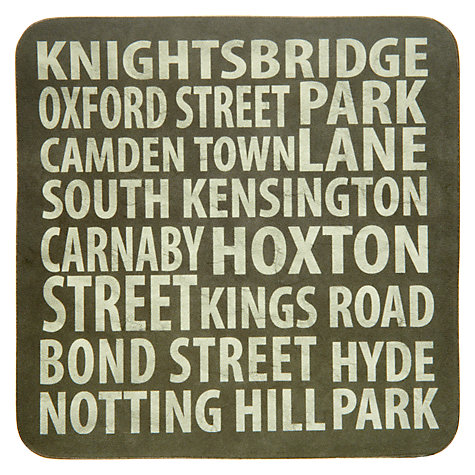 Buy John Lewis London Places Coasters, Set of 4 Online at johnlewis.com