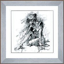 Buy Joanne Boon Thomas - Figurative Study 1 Framed Print, 91 x 91cm Online at johnlewis.com