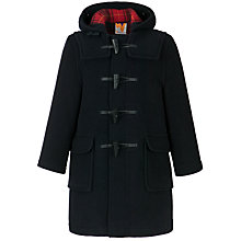 Buy School Unisex Duffel Coat, Navy Online at johnlewis.com