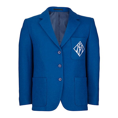 Buy Maria Fidelis Catholic School Girls' Blazer, Blue Online at johnlewis.com