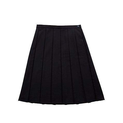 buy presdales school box pleat skirt lewis