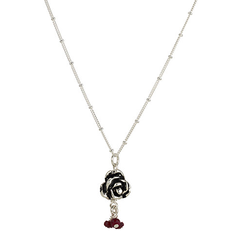 Buy Martick Ruby Rose Pendant Necklace Online at johnlewis.com