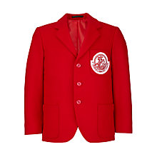 Buy St George's School, Hanover Square Unisex Blazer, Red Online at johnlewis.com
