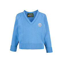 Buy Sydenham High School Girls' Reception and Junior General and Junior Summer Pullover, Blue Online at johnlewis.com