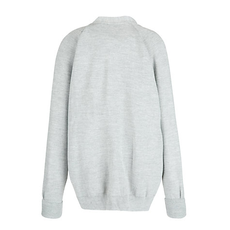 Buy Sydenham High School Girls' Senior General Cardigan, Grey Online at johnlewis.com