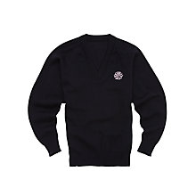 Buy Sydenham High School Girls' Senior General Pullover, Navy Online at johnlewis.com