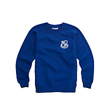 Buy Lochinver House School Boys' Sweatshirt, Royal Blue Online at johnlewis.com