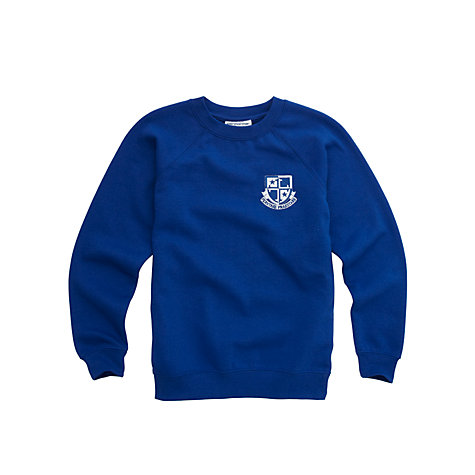 Buy Lochniver House School Boys' Sweatshirt, Blue Online at johnlewis.com