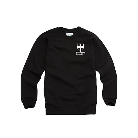 Buy St George's Catholic School Unisex Sports Sweatshirt Online at johnlewis.com