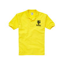 Buy St George's Catholic School Unisex Sports Polo Shirt Online at johnlewis.com