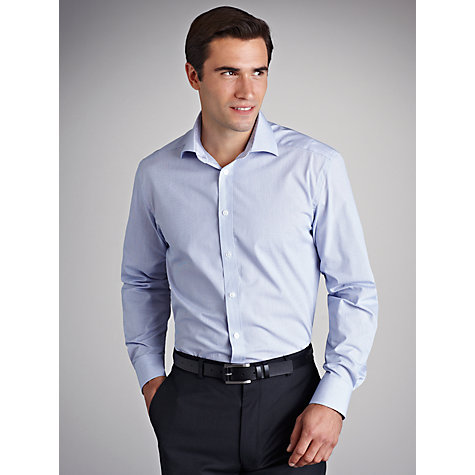 Buy John Lewis Fine Check Shirt Online at johnlewis.com