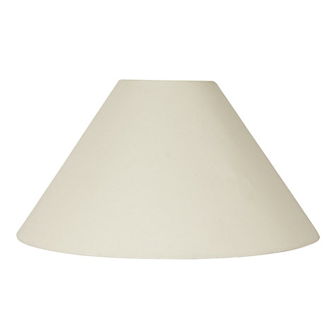 Buy John Lewis The Basics Grace Shade, Cream Online at johnlewis.com