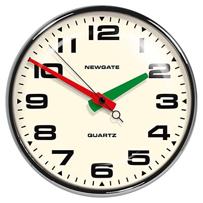 Image of Newgate Brixton Wall Clock, Dia.40cm