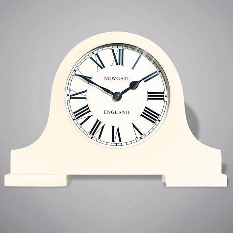 Buy Newgate Mantel Clock, Cream Online at johnlewis.com