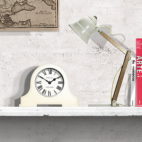 Buy Newgate Mantel Clock, Cream, Small Online at johnlewis.com