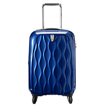 Buy Antler Liquis Spinner 4-Wheel Suitcase, Blue, Cabin Online at johnlewis.com